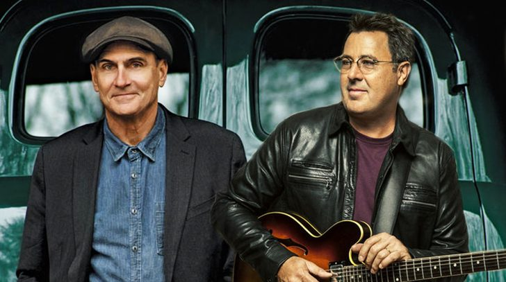 Vince gill Songs | Vince Gill And James Taylor Give Chilling Performance Of 'Bartender's Blues' | Country Music Videos