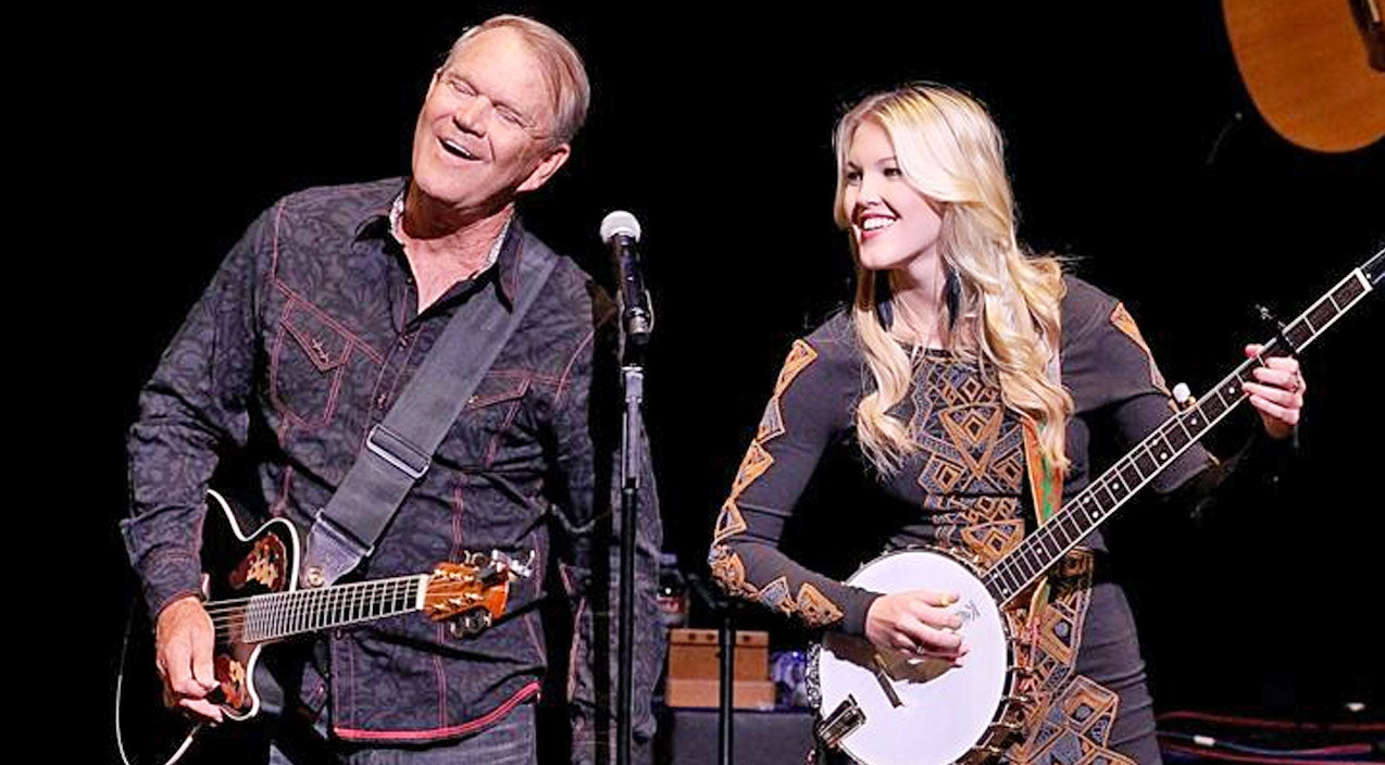 Glen campbell Songs | Glen Campbell's Daughter Shares Precious Moments With Father Before His Declining Health | Country Music Videos
