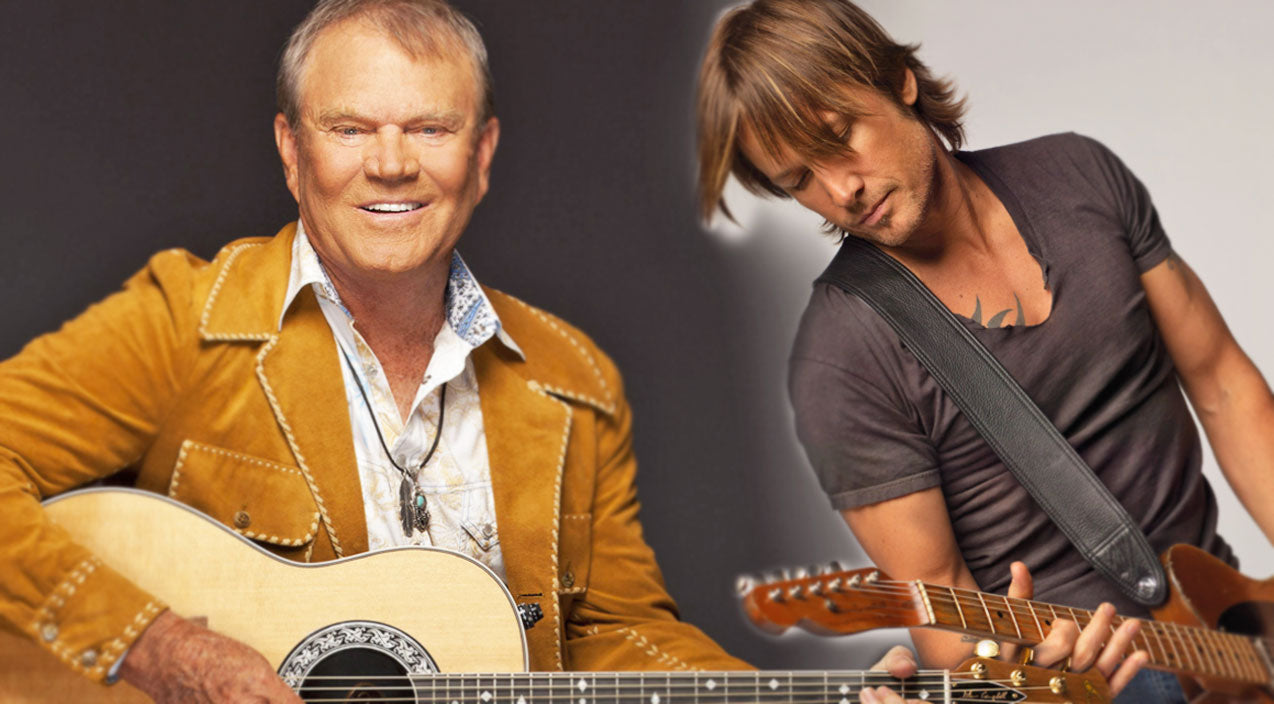 Keith urban Songs | Keith Urban & Glen Campbell Share the Stage in Vegas | Country Music Videos