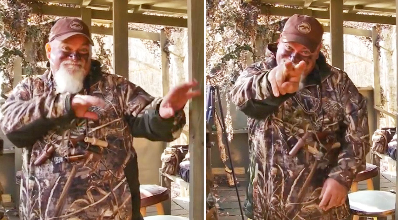 Duck dynasty Songs | Watch Godwin From 'Duck Dynasty' Do Hysterical Dance In A Duck Blind | Country Music Videos