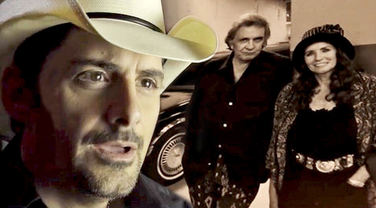 Modern country Songs | Brad Paisley Pays Tribute To Johnny & June In Heart-Tugging New Video | Country Music Videos