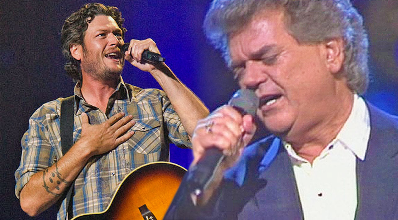 Conway twitty Songs | Conway Twitty and Blake Shelton Sing Emotional Ballad 'Goodbye Time' In Virtual Duet | Country Music Videos