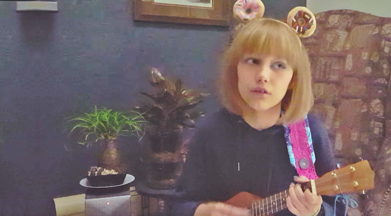 John lennon Songs | Rising Star Grace VanderWaal Delivers Emotional Tribute To John Lennon With 'Imagine' | Country Music Videos