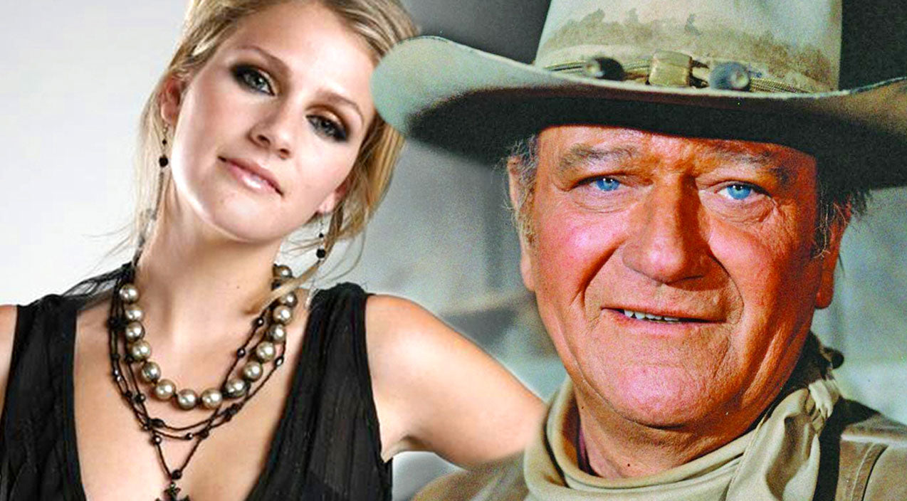 John wayne Songs | John Wayne's Granddaughter Performs Heartfelt Tribute, 'God Bless John Wayne' | Country Music Videos