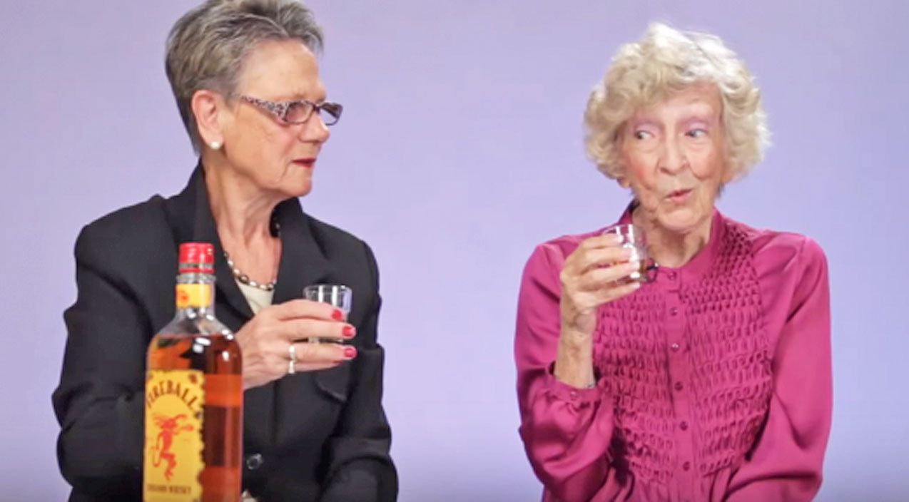 Grandmas Try Fireball Whisky For The First Time, And It's Hysterical! | Country Music Videos