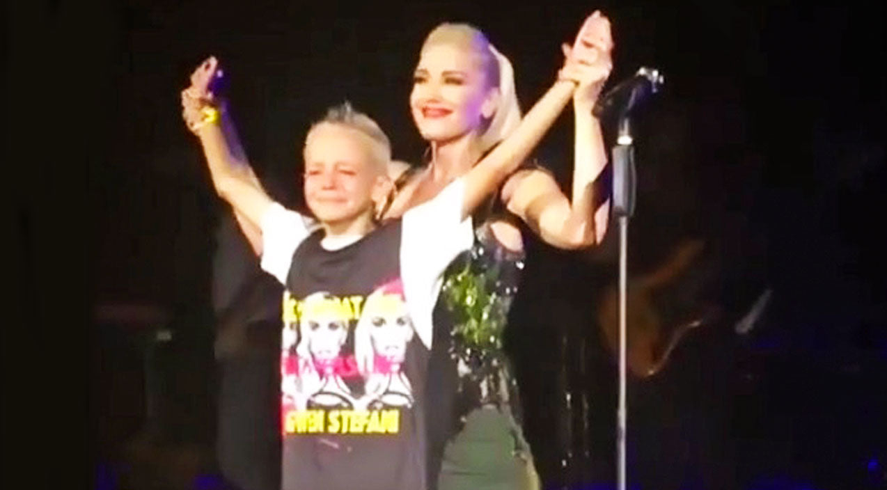 Gwen stefani Songs | Gwen Stefani Brings Bullied Little Boy On Stage, And His Reaction Will Have You In Tears | Country Music Videos
