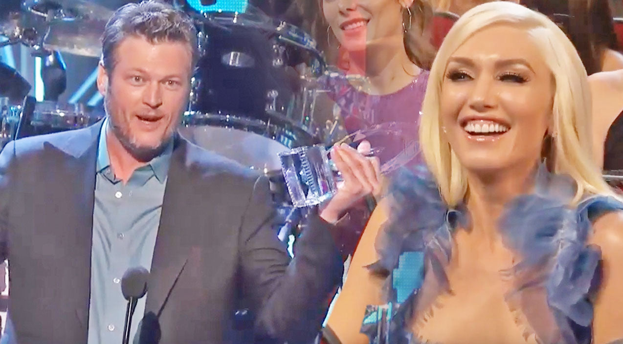 Gwen stefani Songs | Blake Shelton Gushes Over Having 'The Hottest Date' During Acceptance Speech | Country Music Videos