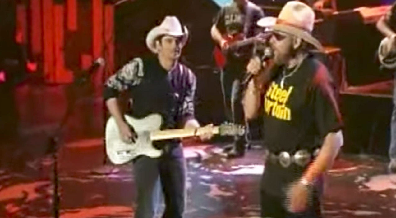 Modern country Songs | Hank Williams Jr. & Brad Paisley Get Rough & Tough With Epic Surprise | Country Music Videos