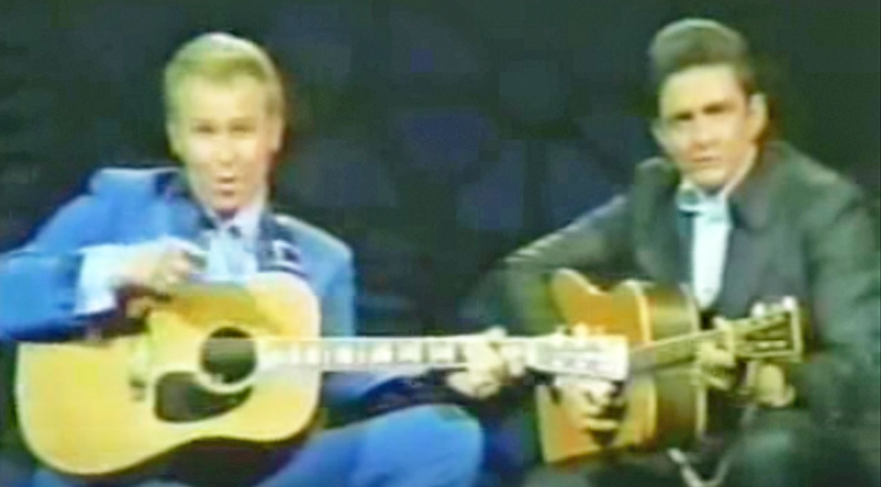 Johnny cash Songs | This Hank Williams Jr. And Johnny Cash Duet Will Make You Wish Time Machines Were Real | Country Music Videos
