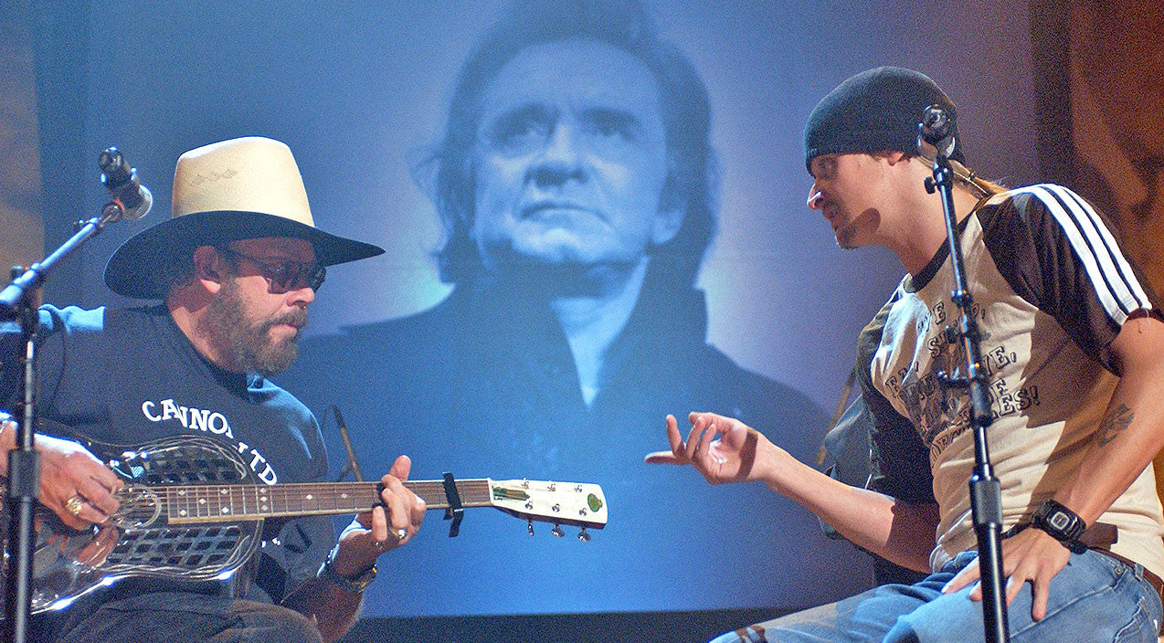 Kid rock Songs | Hank Williams Jr. And Kid Rock Pay Tribute To Johnny Cash In Rockin' Performance | Country Music Videos