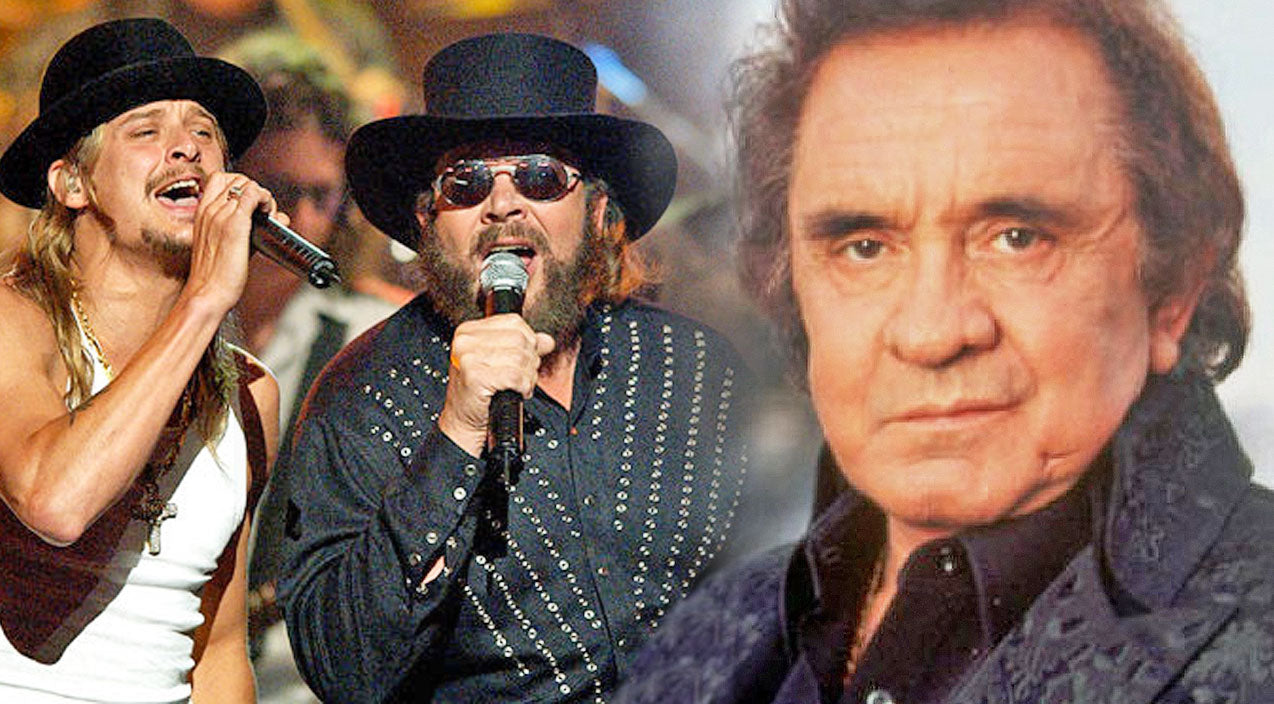 Kid rock Songs | Hank Williams Jr. And Kid Rock Pay Tribute To The Late Johnny Cash In Rockin' Performance | Country Music Videos