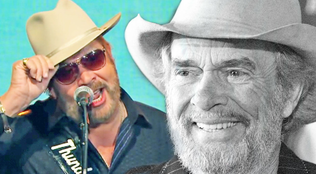 Merle haggard Songs | Hank Jr. Pays Tribute To The Hag With His Classic Hit 'I Think I'll Just Stay Here And Drink' | Country Music Videos