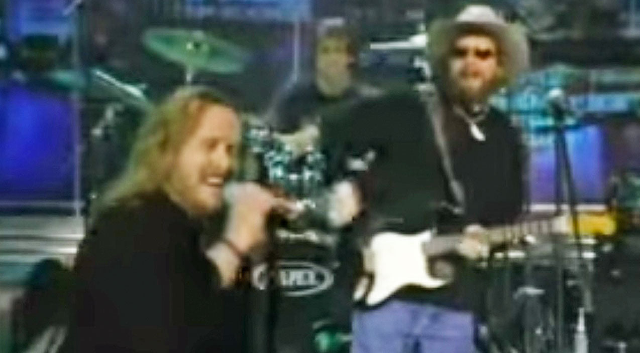 Lynyrd skynyrd Songs | Relive The Moment That Hank Williams Jr. & Skynyrd Killed 'Gimme Three Steps' On Late Night TV | Country Music Videos