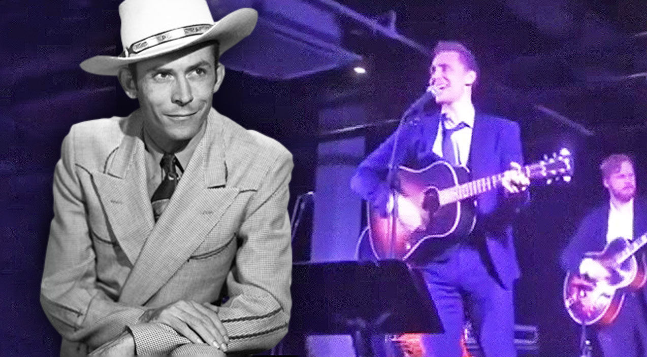 Tom hiddleston Songs | Tom Hiddleston Channels Hank Williams Sr. In A Medley Of His Most Iconic Songs | Country Music Videos