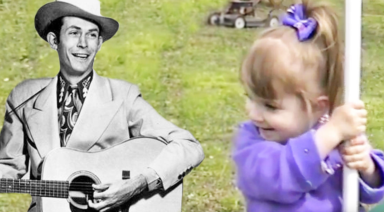 Hank williams Songs | Angelic 2-Year-Old Steals Hearts With Hank Williams' 'Hey, Good Lookin'' | Country Music Videos