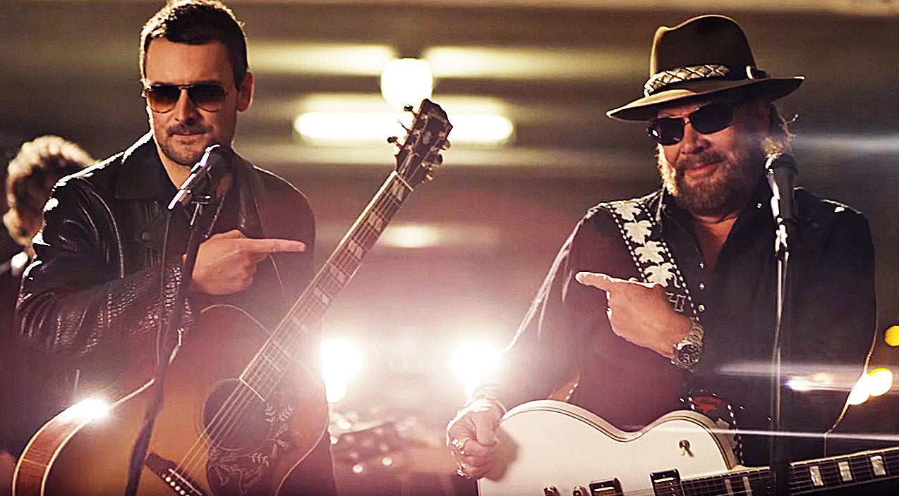 Waylon jennings Songs | Hank Williams Jr. Releases Rowdy New Music Video With Eric Church | Country Music Videos