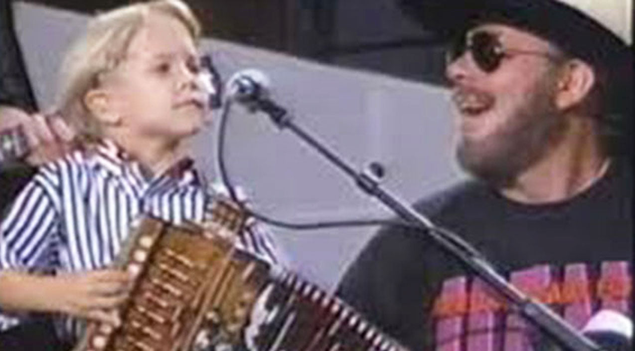 Hunter hayes Songs | 5-Year-Old Hunter Hayes Joins Hank Williams Jr. For EPIC 'Jambalaya' Duet | Country Music Videos