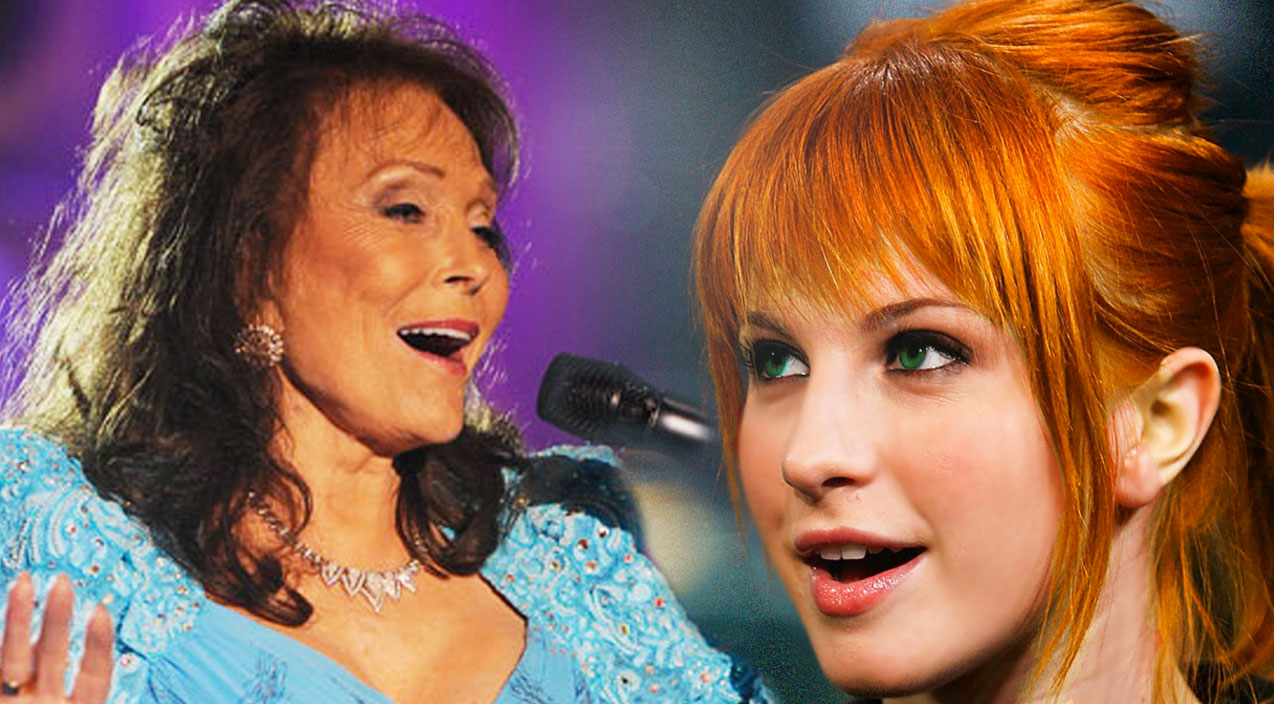 Loretta lynn Songs | Rocker Hayley Williams, Stuns With A Loretta Lynn Classic,