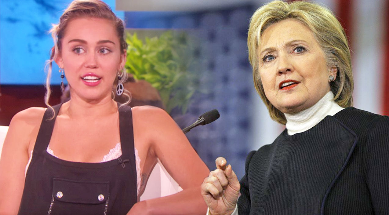 Miley cyrus Songs | Miley Cyrus Reveals Her True Feelings About Presidential Candidate Hillary Clinton | Country Music Videos