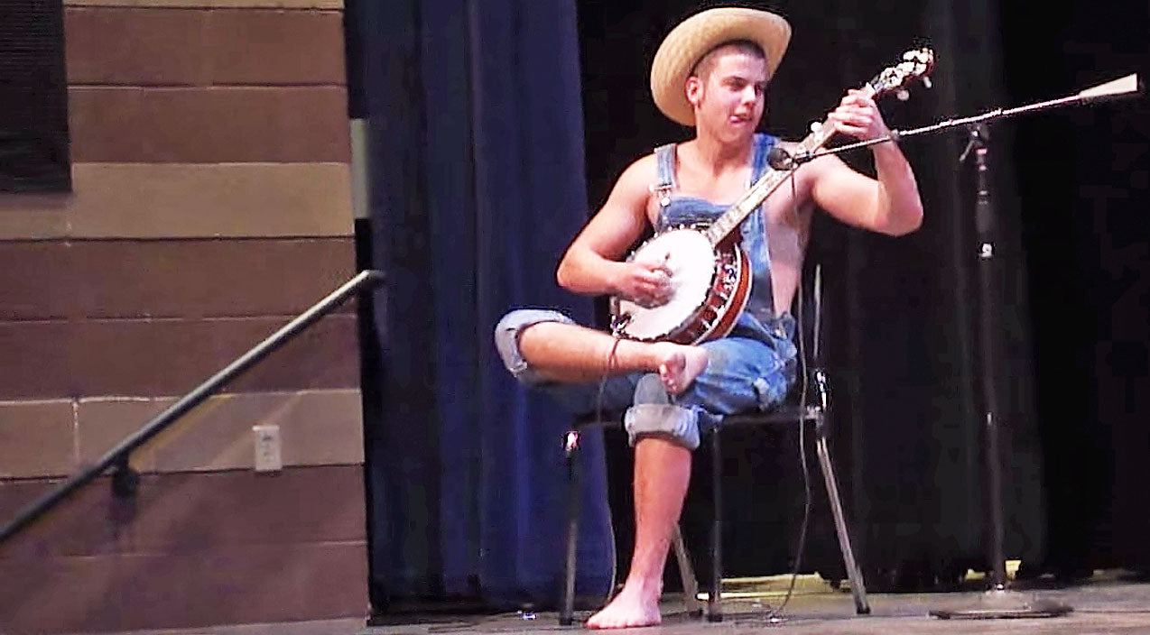 Banjo Songs | 'Hillbilly' Stuns The Audience With Impressive Banjo-Playing Skills | Country Music Videos