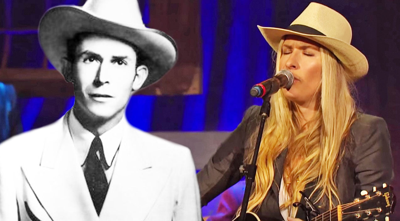 Hank williams Songs | Holly Williams Pays Tribute To Her Iconic Grandfather's 'I'm So Lonesome I Could Cry' | Country Music Videos