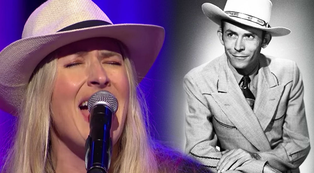 Hank williams Songs | Hank Williams' Granddaughter, Holly Williams, Performs Breathtaking, Original Song,