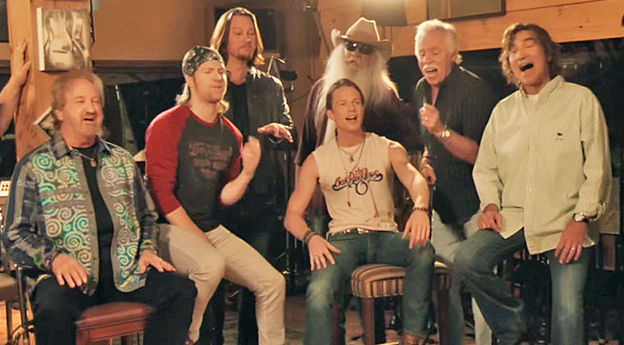 The Oak Ridge Boys Join Home Free For A Blow-You-Away Performance Of 'Elvira'!   Country Music Videos