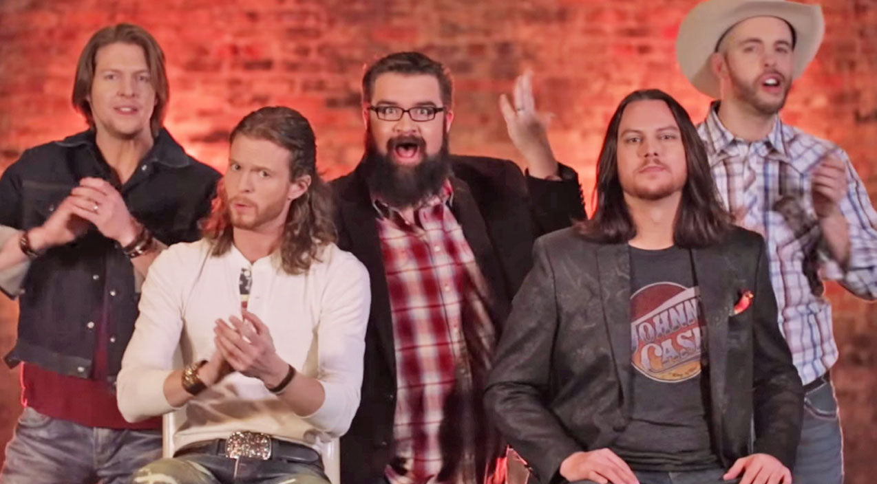 The Home Free A Cappella Guys Country Fried These Popular Pop
