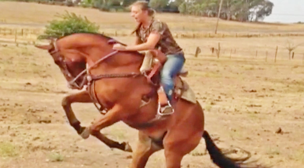 Girl Gets Brutally Thrown From Horse - Makes Badass Recovery | Country Music Videos