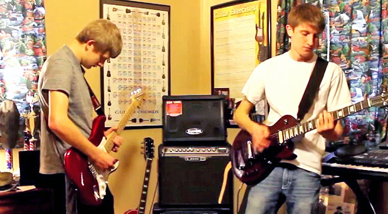 Lynyrd skynyrd Songs | Teen Brothers Crush Out Double Guitar Cover Of Skynyrd's 'On The Hunt' | Country Music Videos
