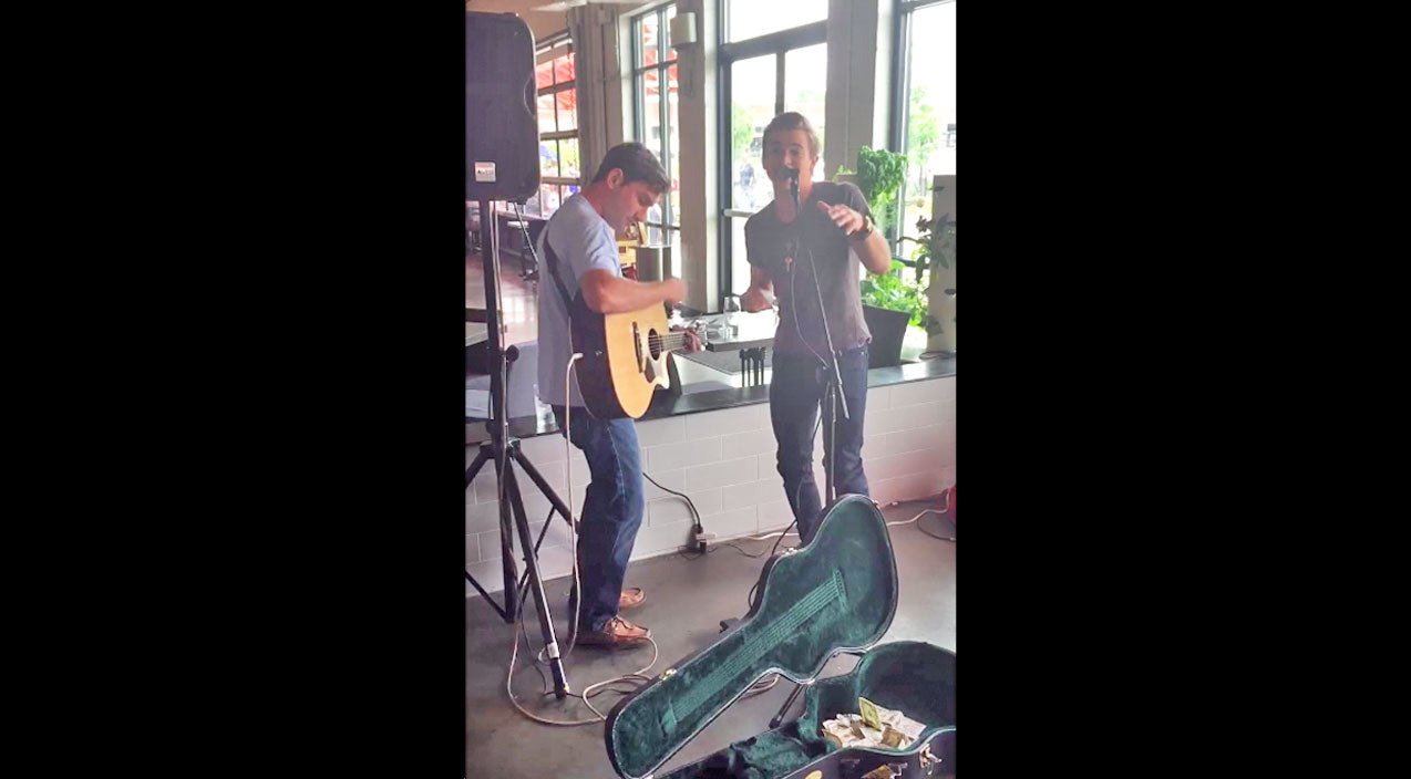 Hunter hayes Songs   Hunter Hayes Surprises Local Musician Performing