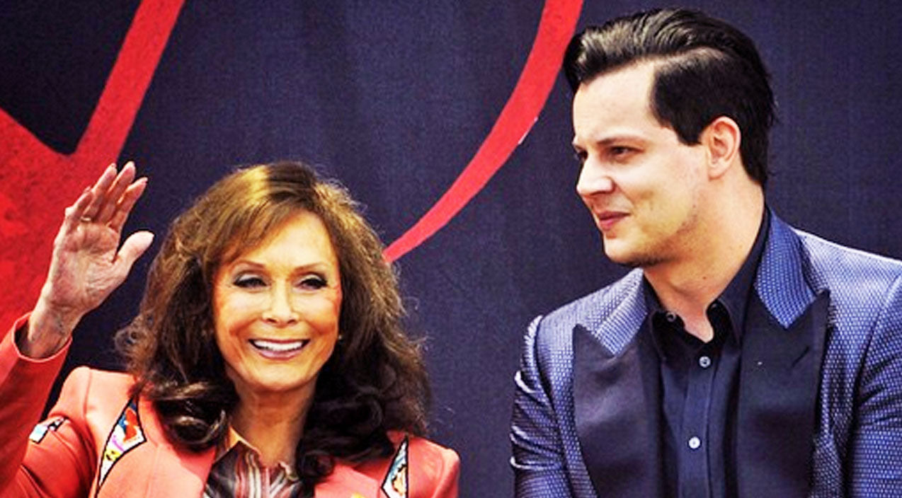 Loretta lynn Songs | Rock Musician Jack White Does Something Unexpected In Nashville | Country Music Videos