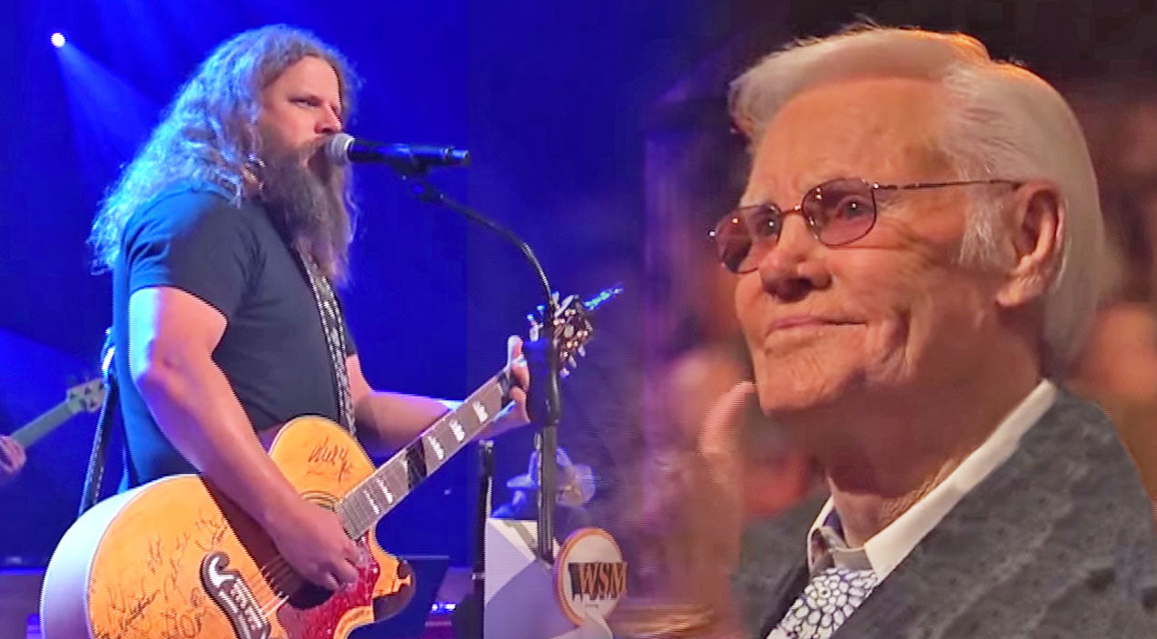 Jamey johnson Songs | Jamey Johnson's Incredible George Jones Medley At The Grand Ole Opry (WATCH) | Country Music Videos