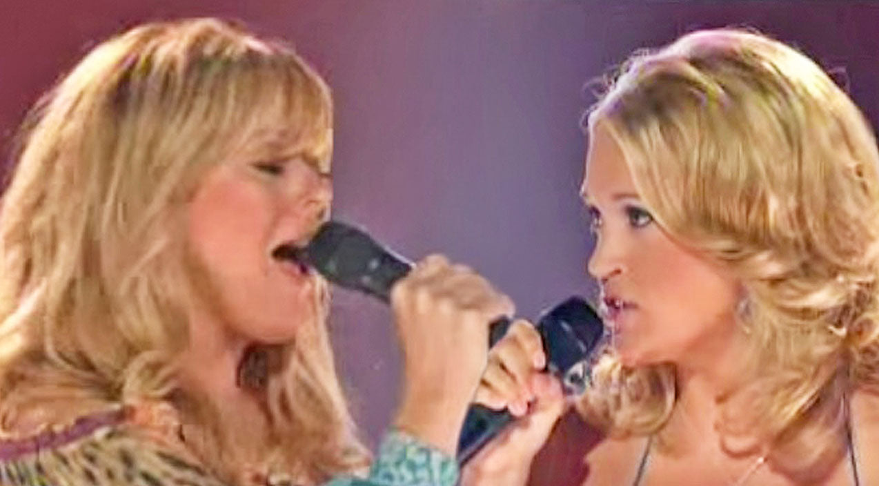 Reba mcentire Songs | FLASHBACK: Carrie Underwood & Jamie O'Neal Stun In Passionate Cover Of Reba Classic | Country Music Videos