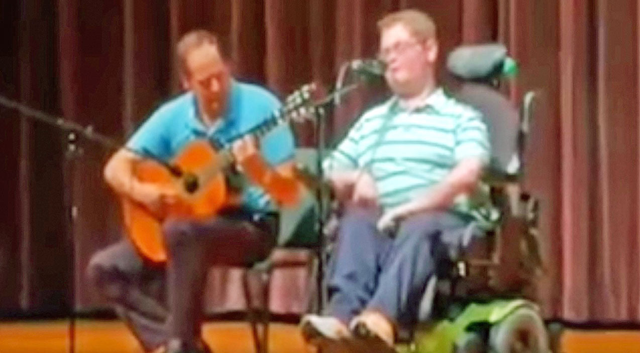 Viral content Songs   Inspiring 16-Year-Old Stuns School Talent Show With Randy Travis' 'I Told You So'   Country Music Videos