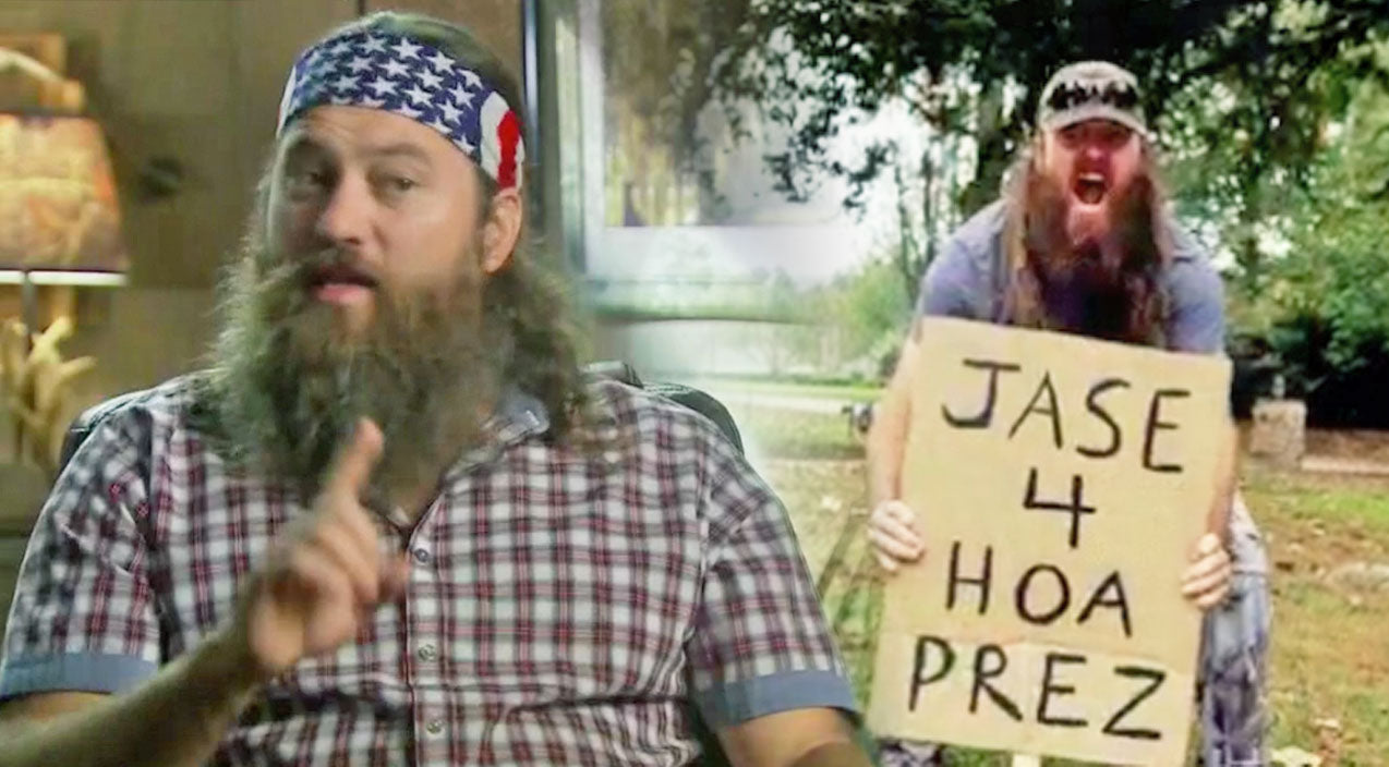 Willie robertson Songs | Willie And Jase Robertson Run Against Each Other For HOA President | Country Music Videos
