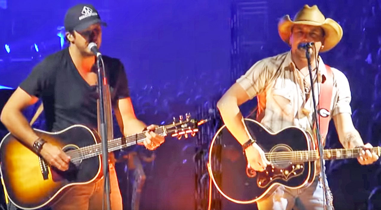 Luke bryan Songs | Luke Bryan & Jason Aldean Pay Tribute To Garth Brooks With 'Much Too Young' Cover | Country Music Videos