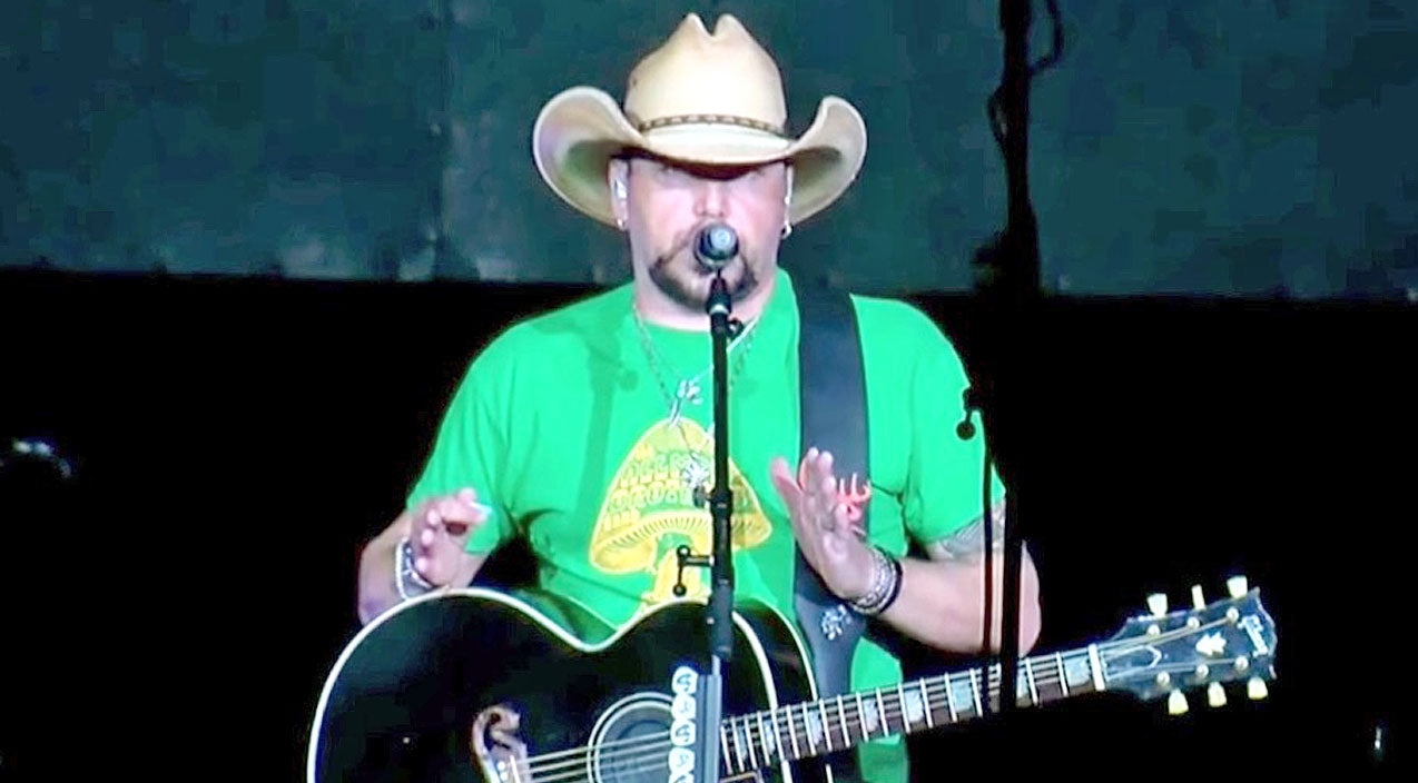 Modern country Songs | Jason Aldean Makes Concert Comeback With Bold Message Following Vegas Shooting | Country Music Videos
