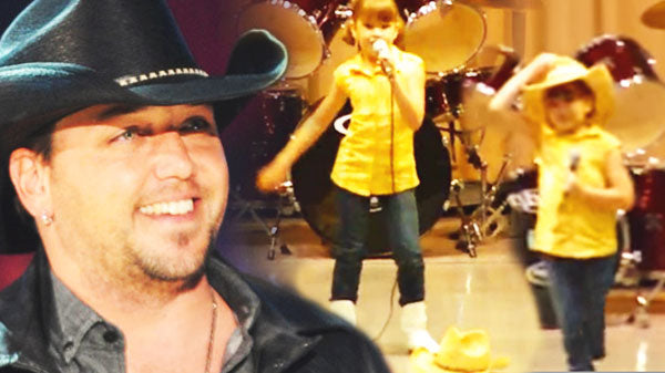Jason aldean Songs | Adorable 7 year old Singing Jason Aldean - 'She's Country' | Country Music Videos