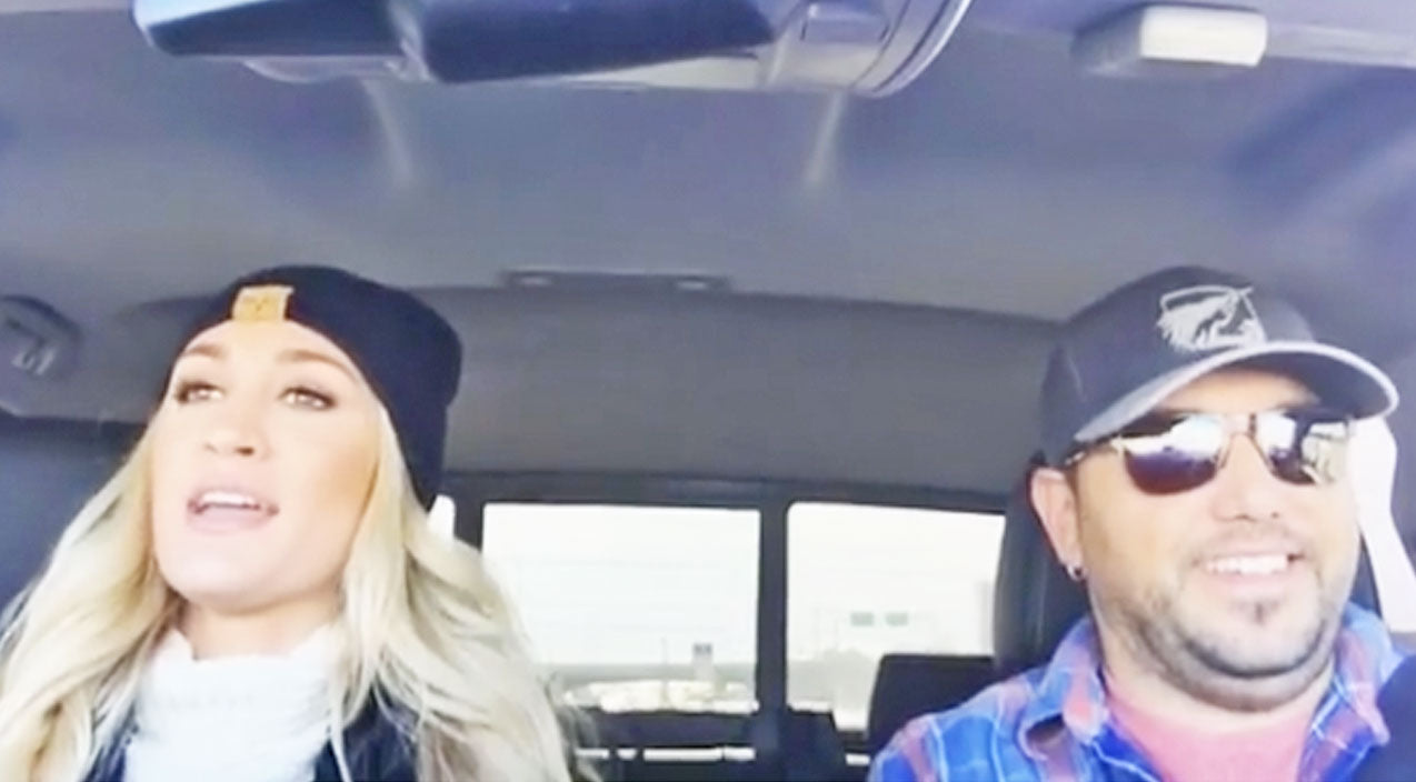 Jason Aldean & His Wife's Third Carpool Karaoke May Just Be The Best Yet! | Country Music Videos