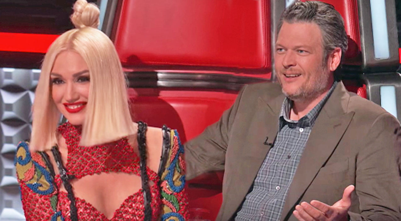 The voice Songs | Blake Shelton Becomes Jealous When Gwen Gets Hot And Bothered By 'Voice' Contestant | Country Music Videos