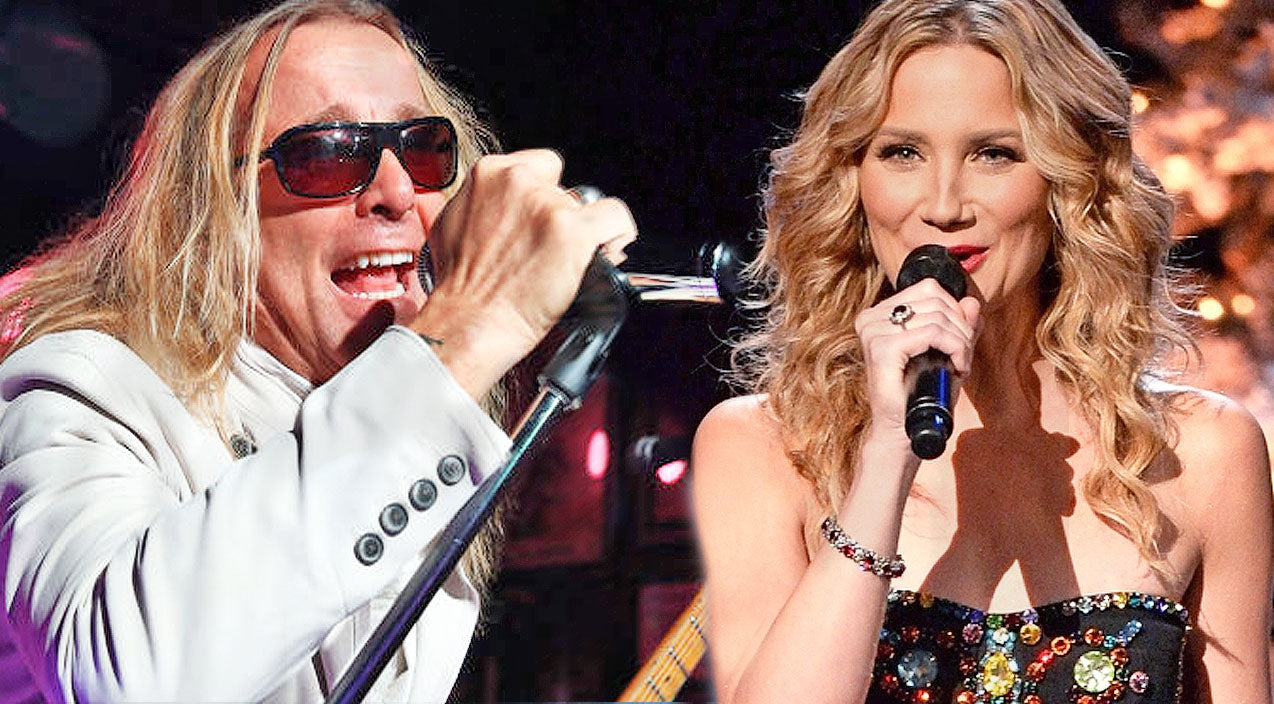 Jennifer Nettles And Cheap Trick Team Up For EPIC Performance Of 'I Want You To Want Me' | Country Music Videos