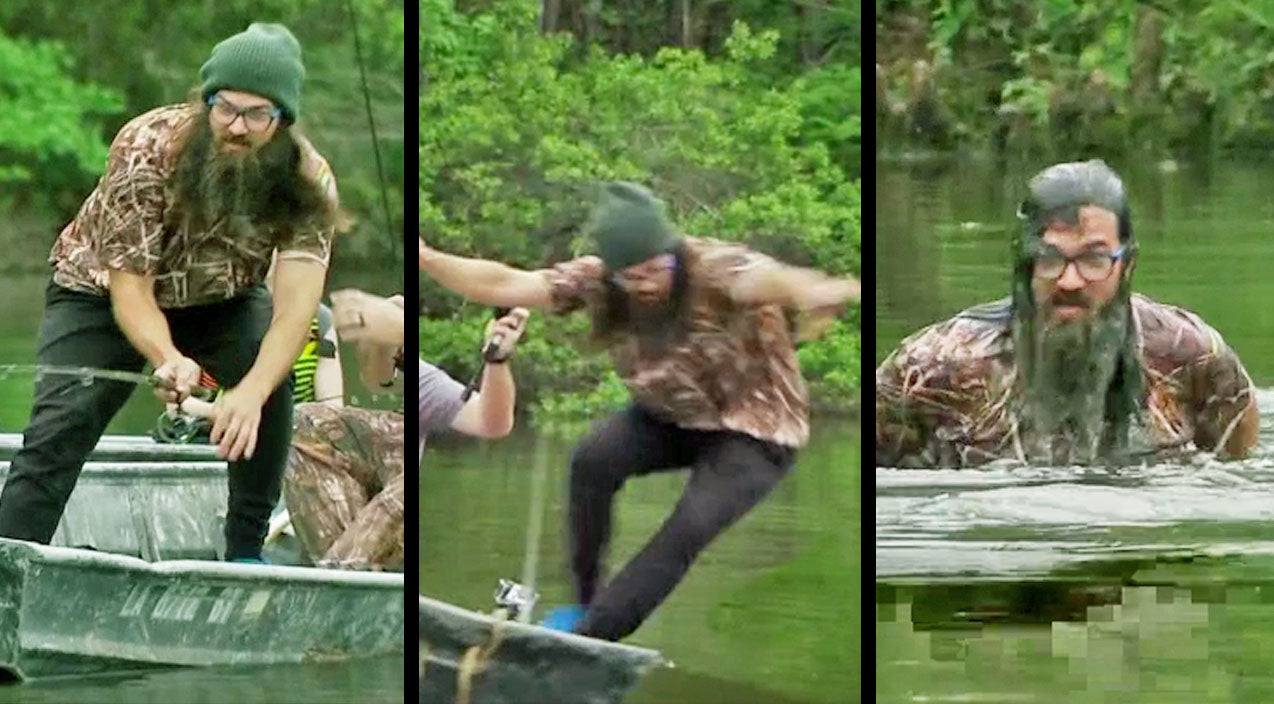 Jep robertson Songs | Jep Robertson Attempts To Teach His Daughters How To Fish, But It Doesn't Go As Planned | Country Music Videos