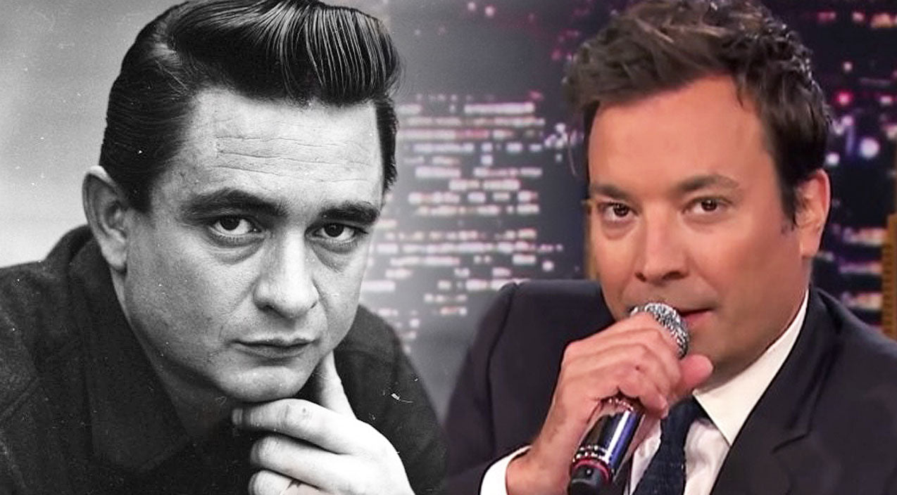 Johnny cash Songs | Jimmy Fallon Makes Audience Roar With His Spot On Johnny Cash Impression | Country Music Videos