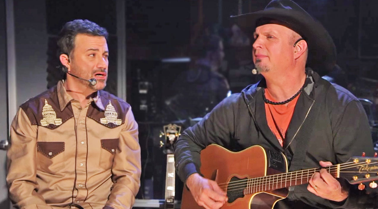 Garth brooks Songs | Garth Brooks Helps Jimmy Kimmel Write A Big Country Hit | Country Music Videos