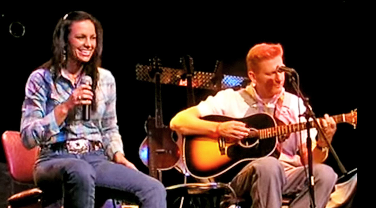 FLASHBACK: A Happy & Carefree Joey + Rory Belt Out Loretta Lynn's 'You Ain't Woman Enough' | Country Music Videos