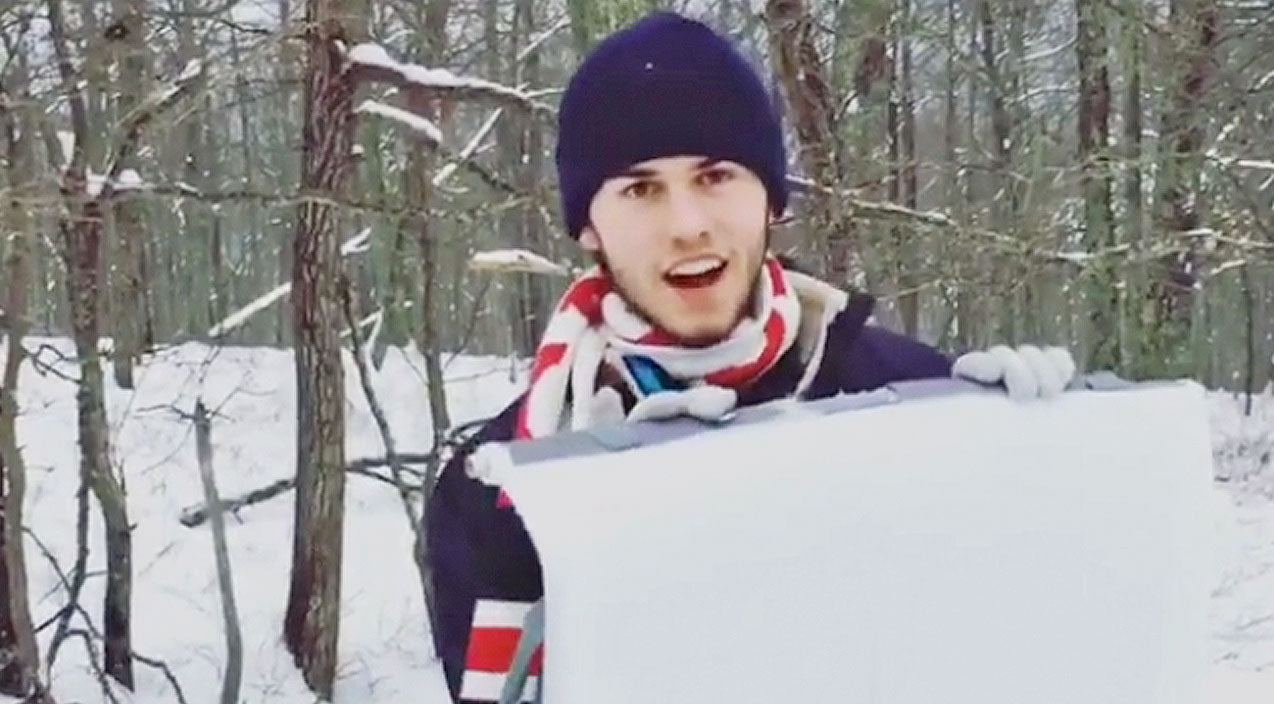John luke robertson Songs | John Luke Robertson Goes Sledding, What Happens Next? Hilarious! | Country Music Videos