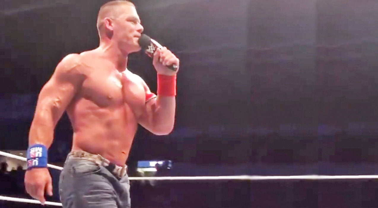 John denver Songs | WWE Superstar John Cena Delivers Surprising Cover Of 'Take Me Home, Country Roads' | Country Music Videos