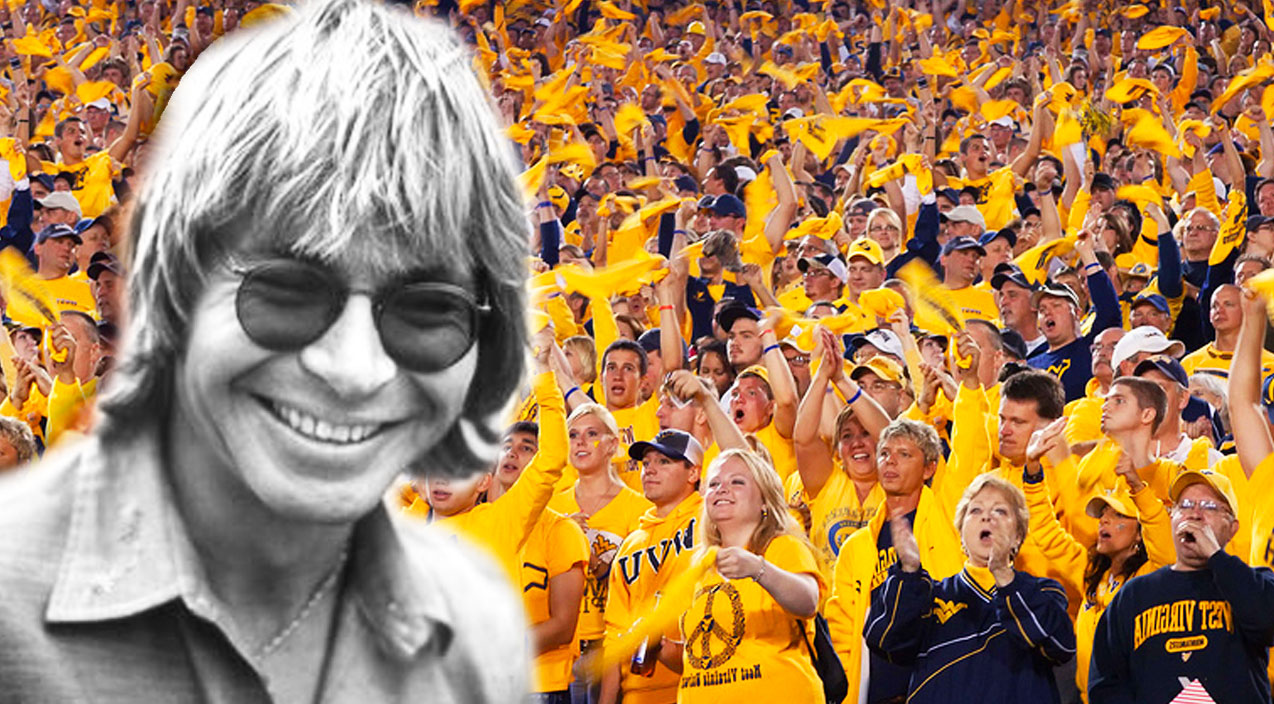 John denver Songs | Entire College Football Stadium Belts Out