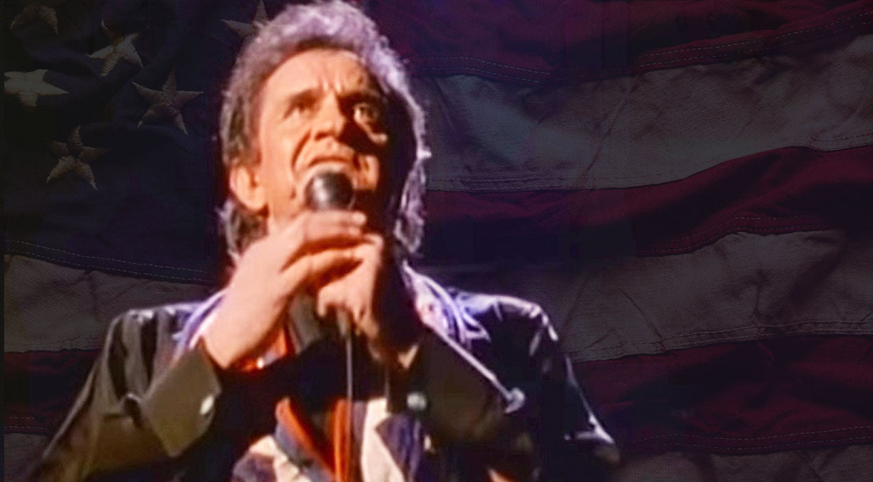 Modern country Songs | Johnny Cash Defends Old Glory In Powerful Performance Of 'Ragged Old Flag' | Country Music Videos